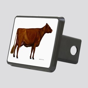 Shorthorn dairy cow Rectangular Hitch Cover