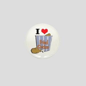 I Heart (Love) Fried Chicken Mini Button
