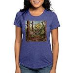 full forest Womens Tri-blend T-Shirt