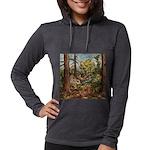 full forest Womens Hooded Shirt