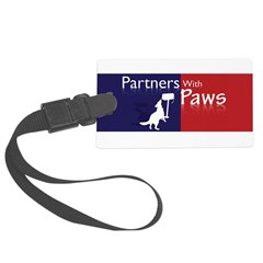 Partners With Paws Luggage Tag