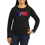 Partners With Paws Women's Long Sleeve Dark T-Shir