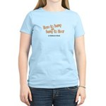Here to Bump Women's Light T-Shirt