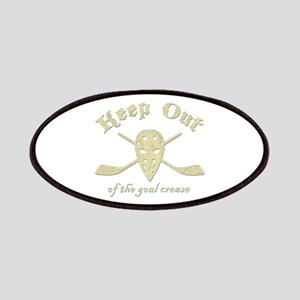 Hockey Goal Crease Patches