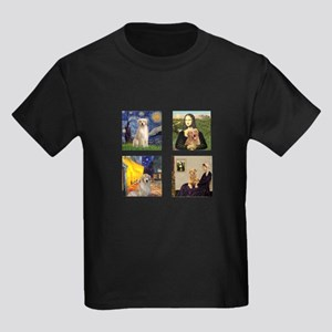 Famous Goldens (cl) Kids Dark T-Shirt