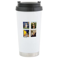 Famous Goldens (cl) Stainless Steel Travel Mug