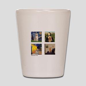 Famous Goldens (cl) Shot Glass