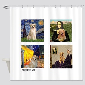 Famous Goldens (cl) Shower Curtain