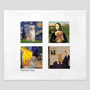 Famous Goldens (cl) King Duvet