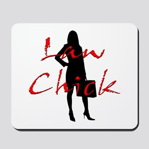 Law Chick Mousepad