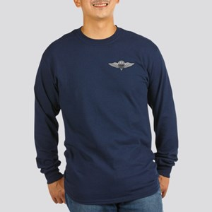 Parachute Rigger Long Sleeve Dark T-Shirt