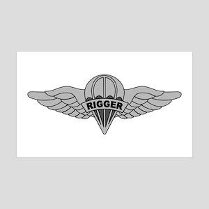 Parachute Rigger 35x21 Wall Decal