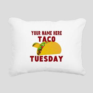 Taco Tuesday Rectangular Canvas Pillow