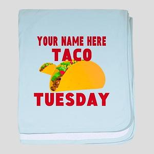 Taco Tuesday baby blanket