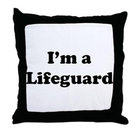 Lifeguard: Throw Pillow