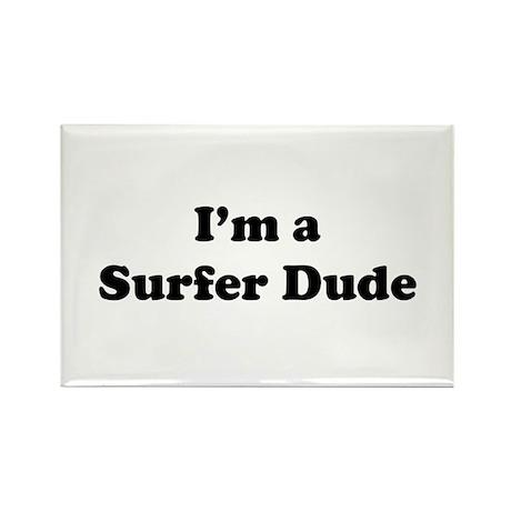Surfer: Rectangle Magnet