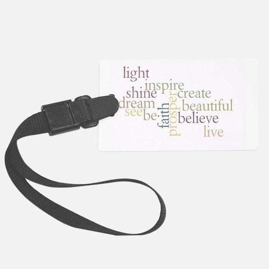 Faith Matters Luggage Tag