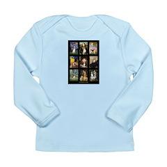 FamousArtBeagle Comp Long Sleeve Infant T-Shirt