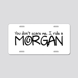 Morgan Aluminum License Plate