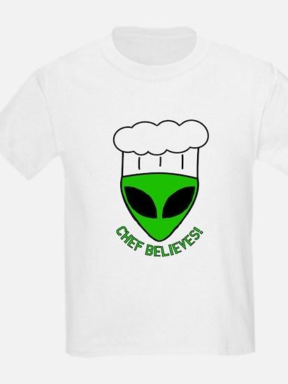 Chef Believes Kids T-Shirt