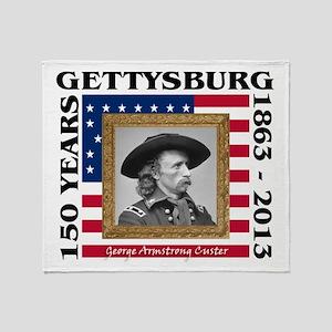 George Armstrong Custer - Gettysburg Stadium Blan