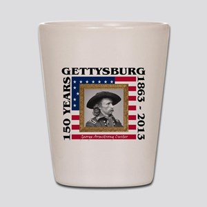 George Armstrong Custer - Gettysburg Shot Glass