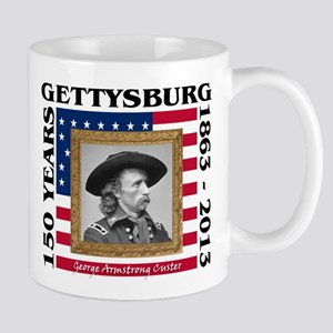 George Armstrong Custer - Gettysburg Mug