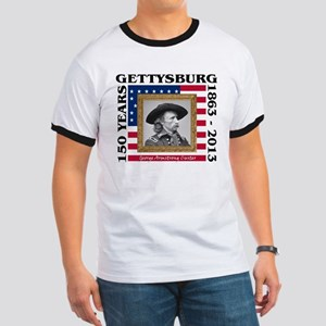 George Armstrong Custer - Gettysburg Ringer T