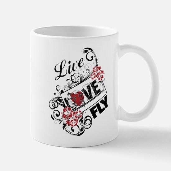 Live Love Fly Mug