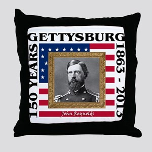 John Reynolds - Gettysburg Throw Pillow