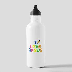 I Love Jesus Stainless Water Bottle 1.0L