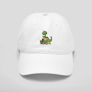Cute Green School Dragon Cap