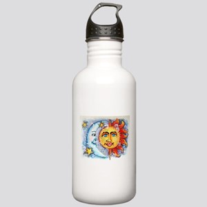 Celestial Sun and Moon Stainless Water Bottle 1.0L