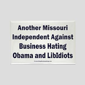 Missouri Independent Rectangle Magnet