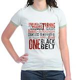 Martial arts Jr. Ringer T-Shirt