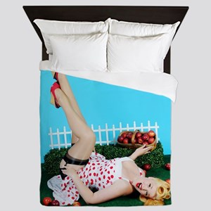 Apples Queen Duvet