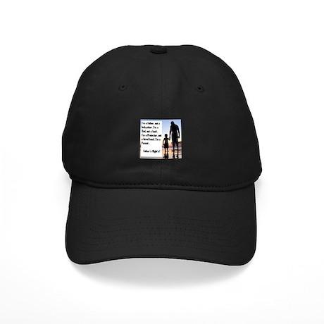 Im a Father First Black Cap
