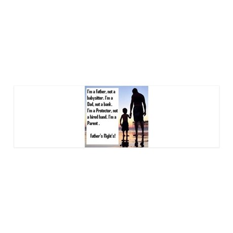 Im a Father First 20x6 Wall Decal