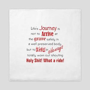 Lifes Journey Queen Duvet