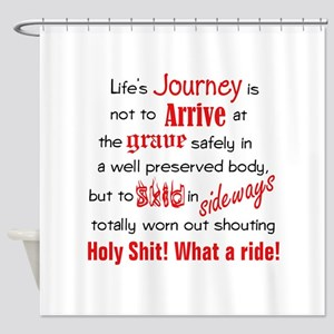Lifes Journey Shower Curtain
