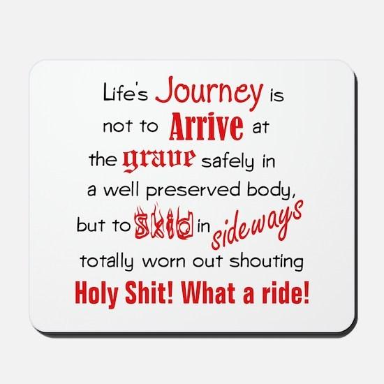 Lifes Journey Mousepad
