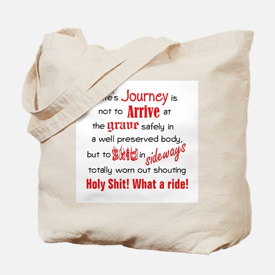 Lifes Journey Tote Bag