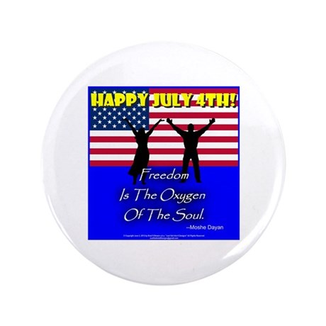 "July 4th: 0002 3.5"" Button"
