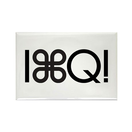 Command Q Rectangle Magnet (10 pack)