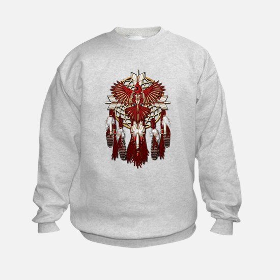 Native Cardinal Mandala Sweatshirt