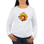 Prickly Pear Flower Women's Long Sleeve T-Shirt