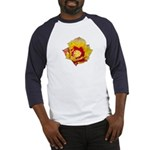 Prickly Pear Flower Baseball Jersey