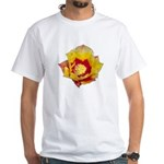 Prickly Pear Flower White T-Shirt