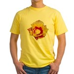 Prickly Pear Flower Yellow T-Shirt