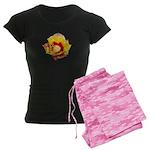 Prickly Pear Flower Women's Dark Pajamas